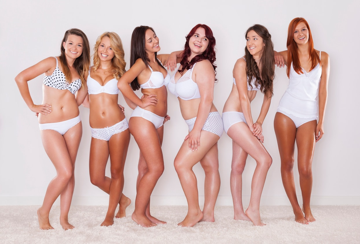 Choosing Lingerie By Your Body Shape