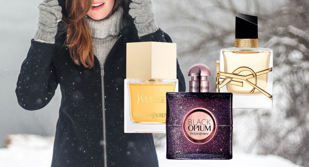 Best Yves Saint Laurent Perfumes For Autumn and Winter