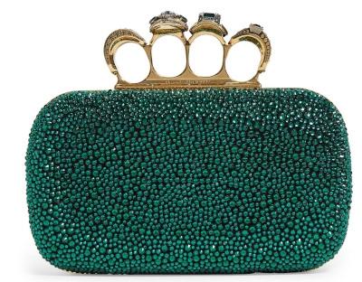 Alexander McQueen Embellished Clutch Minaudiere Bag