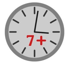 Longevity 7 hours