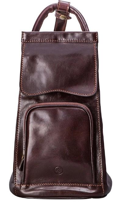 Maxwell Scott Italian Leather Sling Bag