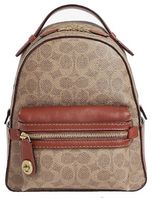 COACH Campus Leather Backpack