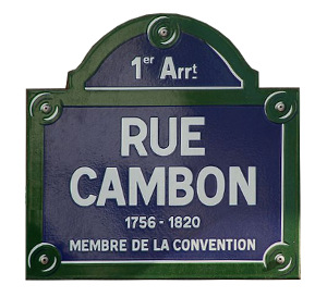 Her first shop was situated on Rue Cambon