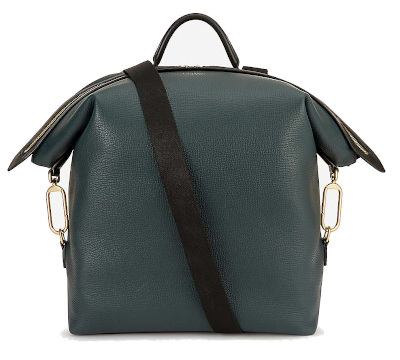 SMYTHSON Clip Down Leather Backpack