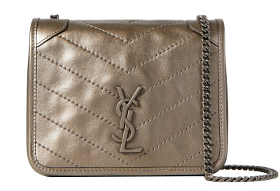 YSL Niki Mini Quilted Leather Cross Body Bag