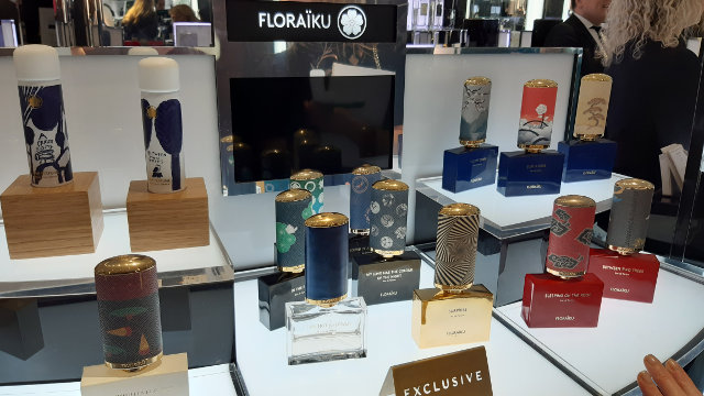 You can check out Floraiku in Harrods