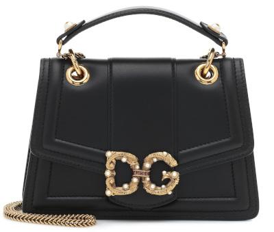 DG Amore Leather Shoulder Bag