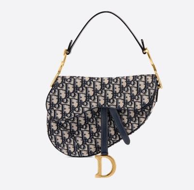 Dior Oblique Saddle Shoulder Bag