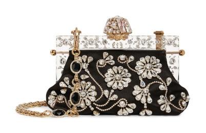 DOLCE & GABBANA Jewel Embellished Bag