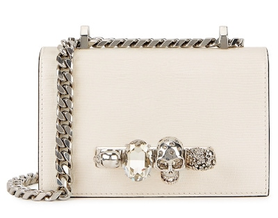 Alexander McQueen Jewelled Mini Satchel