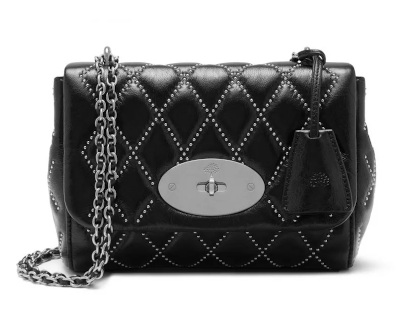 Lily Black Quilted Mini Bag