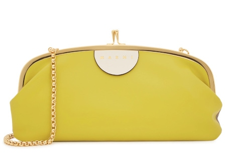 Marni Yellow Wallet Clutch