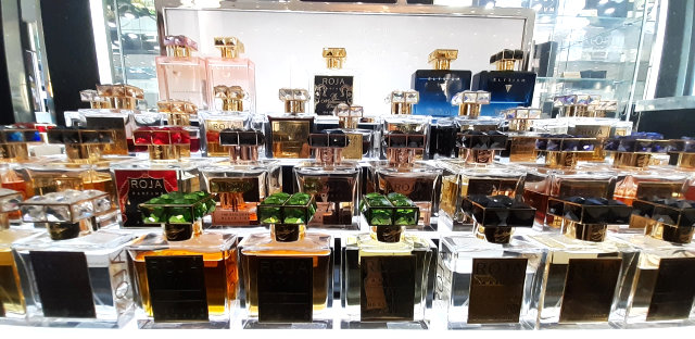 Our Visit To The Roja Parfum Counter at Harrods