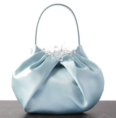 Simone Rocha Satin and Leather Tote