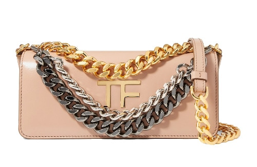 Tom Ford Triple Chain Shoulder Bag