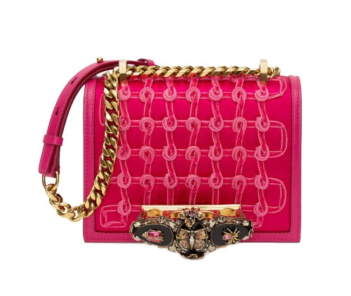 Alexander McQueen - Small Butterfly Jewelled Satchel