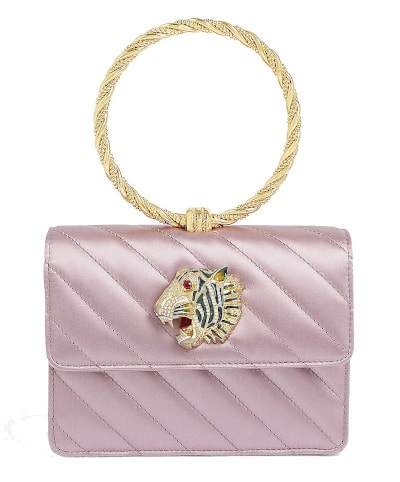 Rajah Quilted Clutch - Gucci