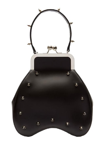 Simone Rocha - Bean Handheld Leather Bag