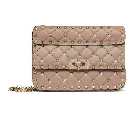 Rockstud Spike Nappa Leather Bag - Valentino