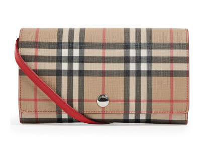 Vintage Check Wallet - BURBERRY