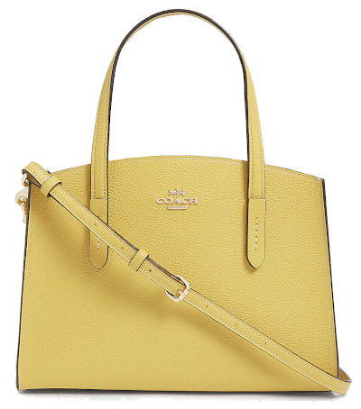 Coach Charlie Grained Leather Tote