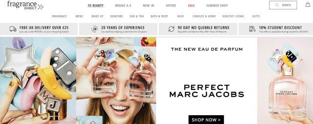 Fragrance DIrect Official Website