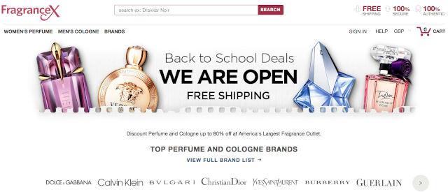 FragranceX Official Website