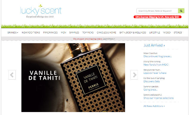 Lucky Scent Official Website