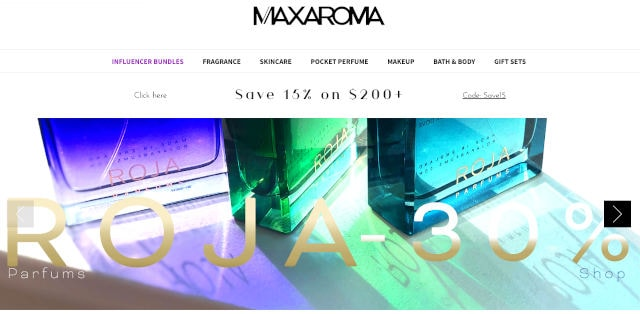 Maxaroma official website