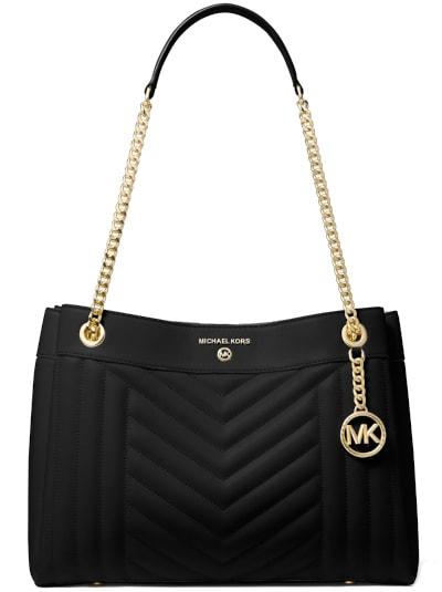 Susan Medium Quilted Leather Shoulder Bag
