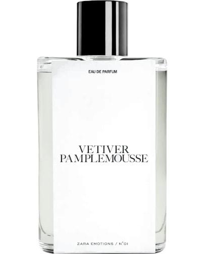 Zara Vetiver Pamplemousse Eau de Parfum
