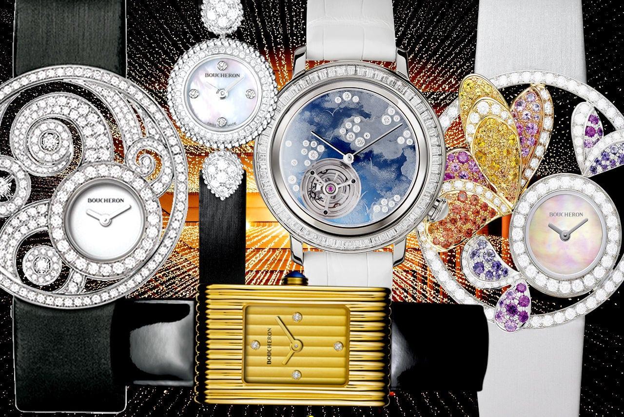 Best Boucheron Diamond Watches For Women