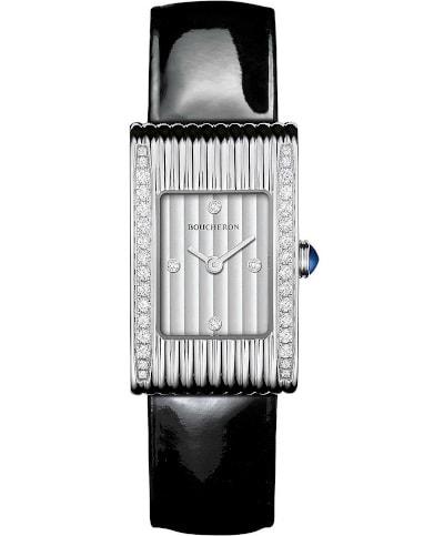 Reflet Stainless Steel Diamond Watch