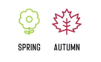 Seasons: Spring, Autumn