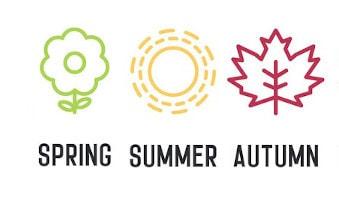 Seasons: Spring, Summer, Autumn