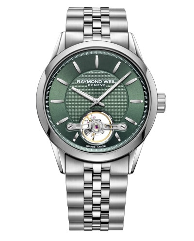 Freelancer Automatic Green Dial