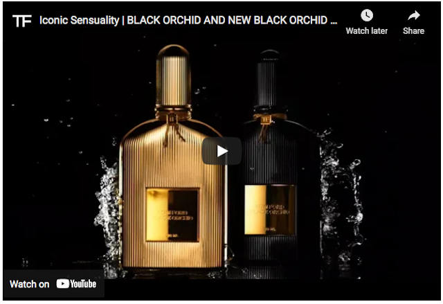 Black Orchid – Official Tom Ford Promo on Youtube