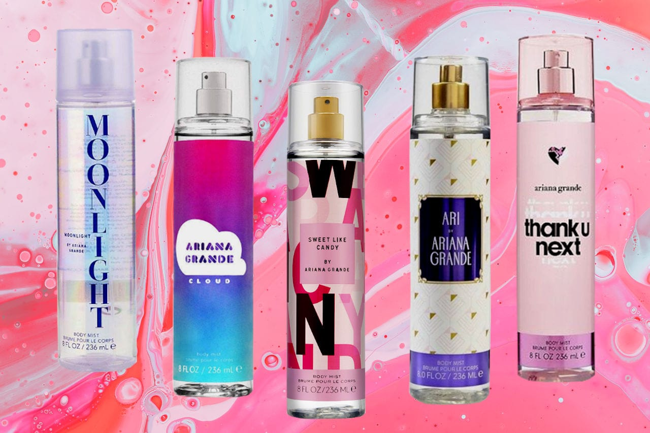 Most Popular Ariana Grande Body Mists