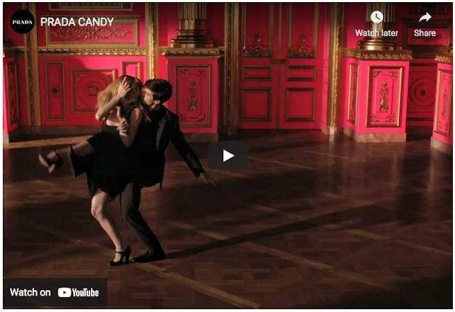 Prada Candy Official Promo on Youtube