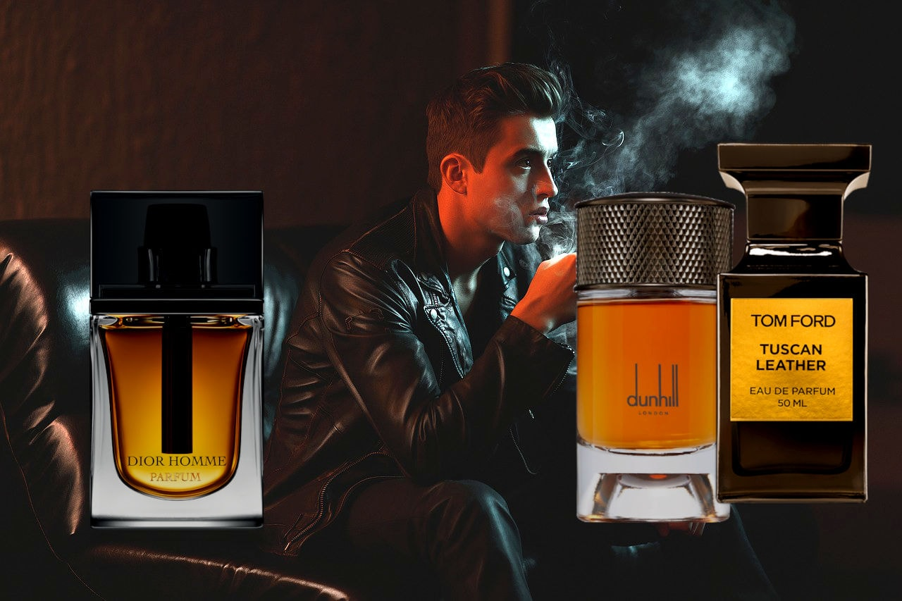 Luxurious Leather Fragrances For Men
