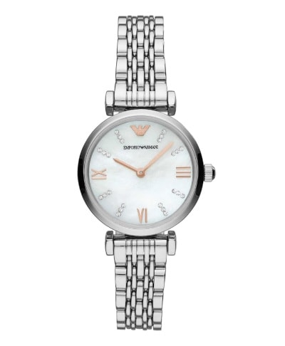Emporio Armani T-Bar Stainless Steel