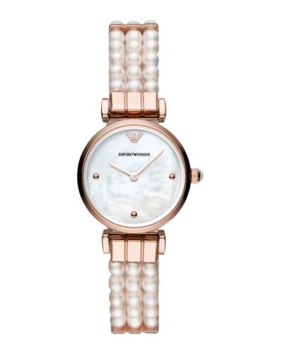 Armani Freshwater Pearl Watch