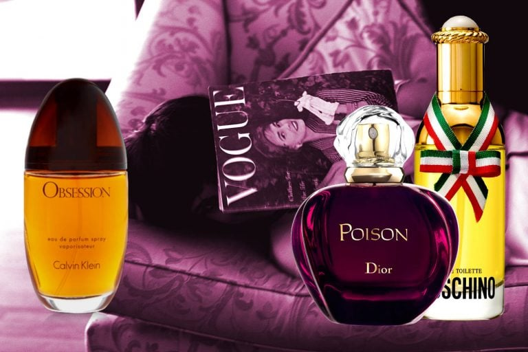 Popular Perfumes From The 80s