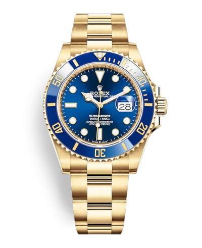 Rolex Submariner Date Yellow Gold 126618LB